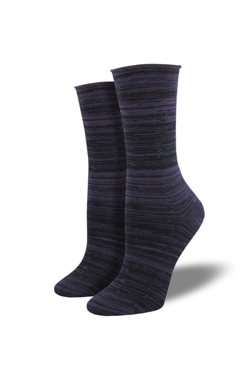 Socksmith Bamboo Space Dye Socks - Purple