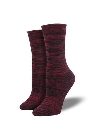 Socksmith Bamboo Space Dye Socks in Pink