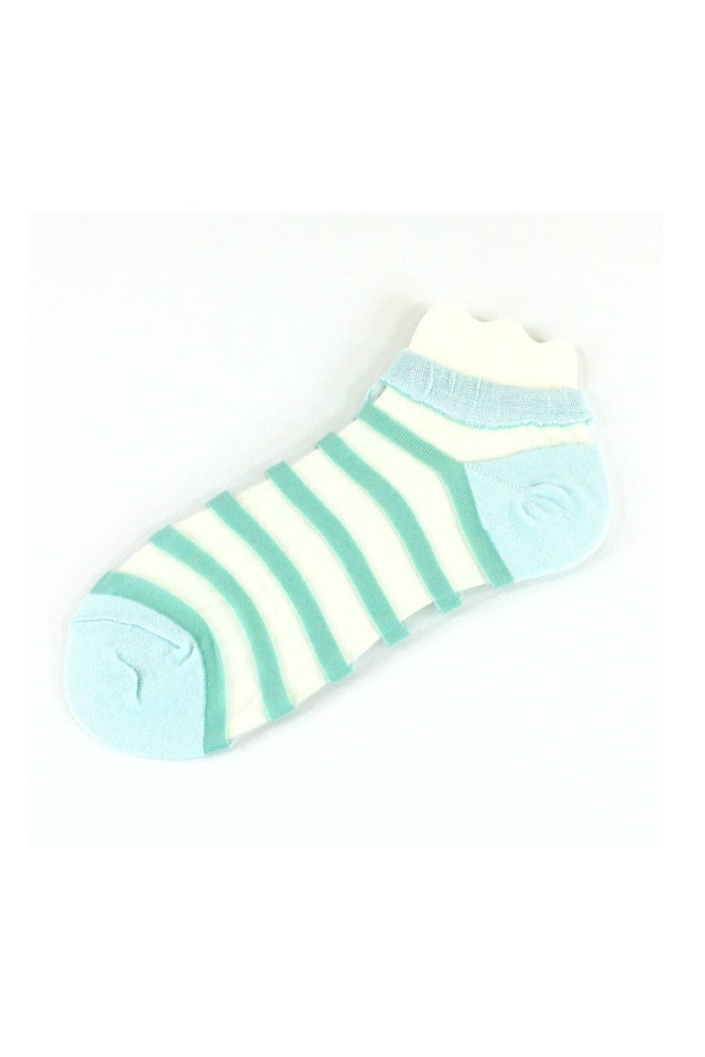 Pretty Persuasions Beach Day Socks - Mint