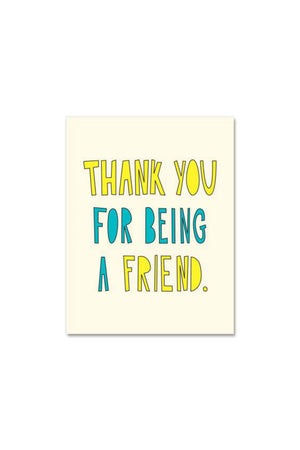 Near Modern Disaster Greeting Card - Being A Friend
