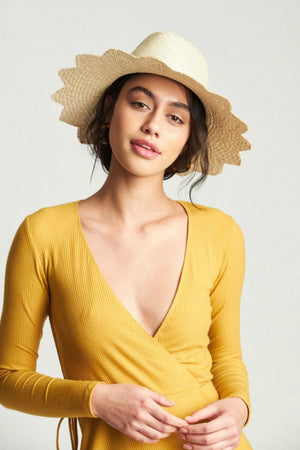Brixton Blakely Fedora - Palm Straw