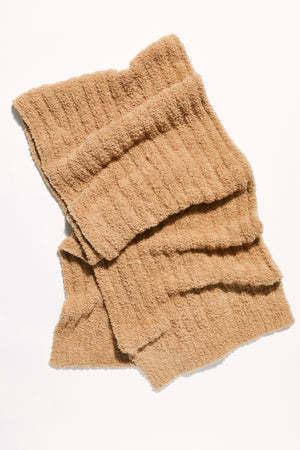 Free People Cloud Rib Blanket Scarf - Camel