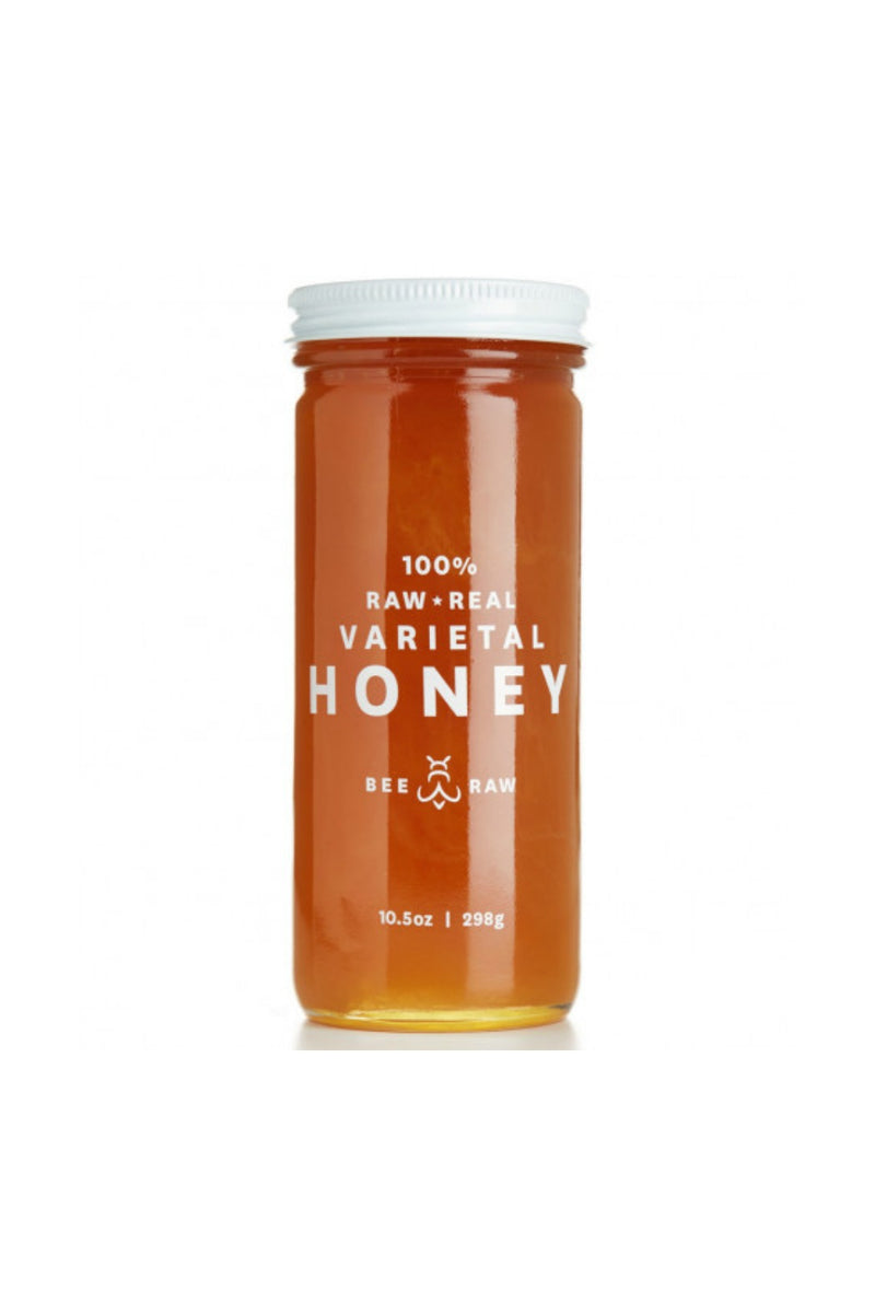 Bee Raw Honey 10.5 oz. Jar - Maine Blueberry