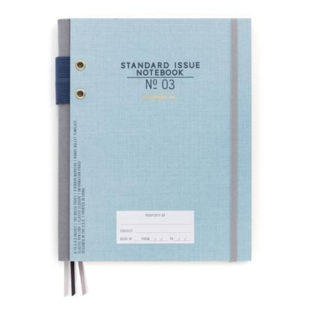 Designworks Ink Hardcover Fabric Spine Notebook - Blue
