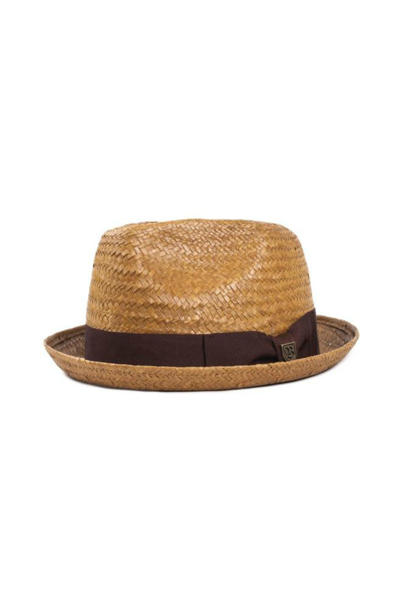 Brixton Castor Fedora in Copper