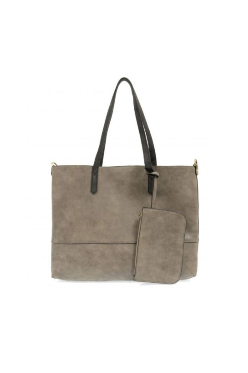 Joy Susan Brushed 2 in 1 Tote - Fossil