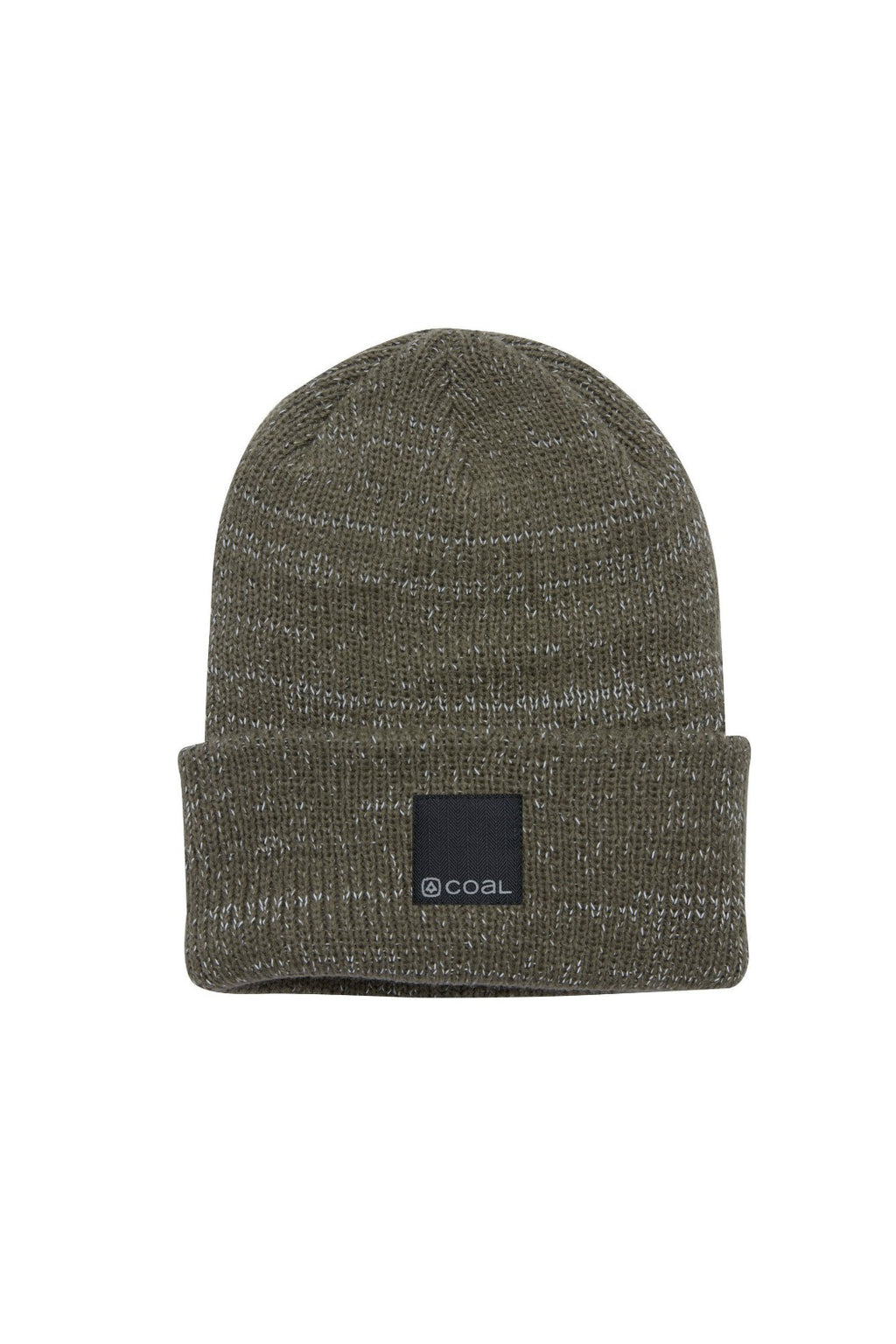 Coal Burlington Reflective Beanie - Olive