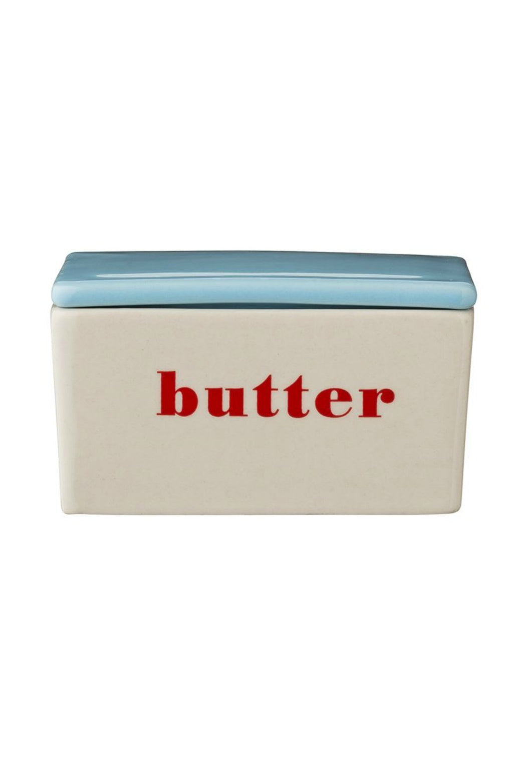 Bloomingvillle Stoneware Butter Box