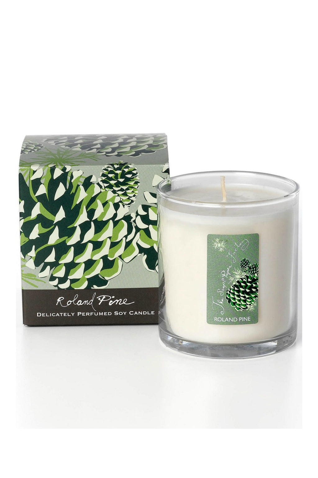 The Soap & Paper Factory - Roland Pine 9.5 oz Soy Candle