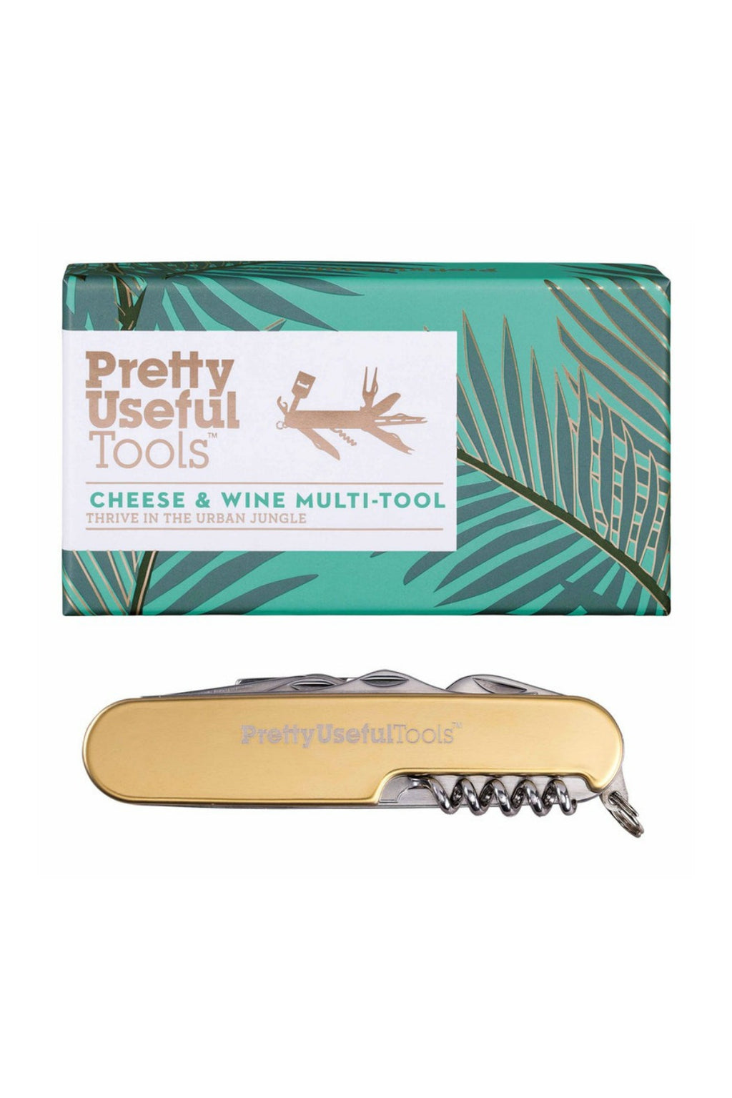 Pretty Useful Tools Cheese and Wine Multi-Tool