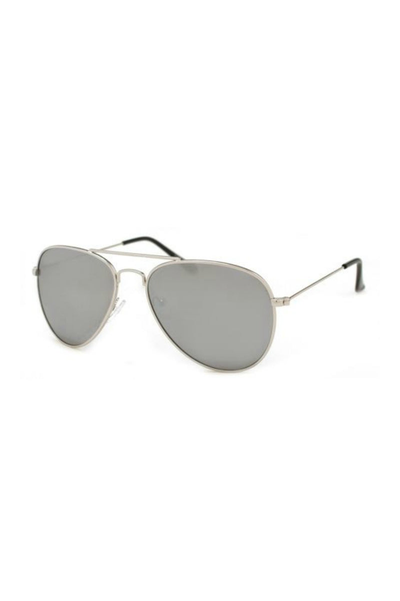Chris Sunnies - Silver Mirror Lense