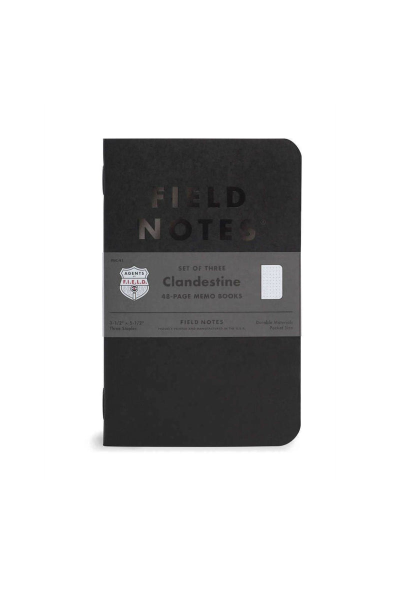 Field Notes Clandestine