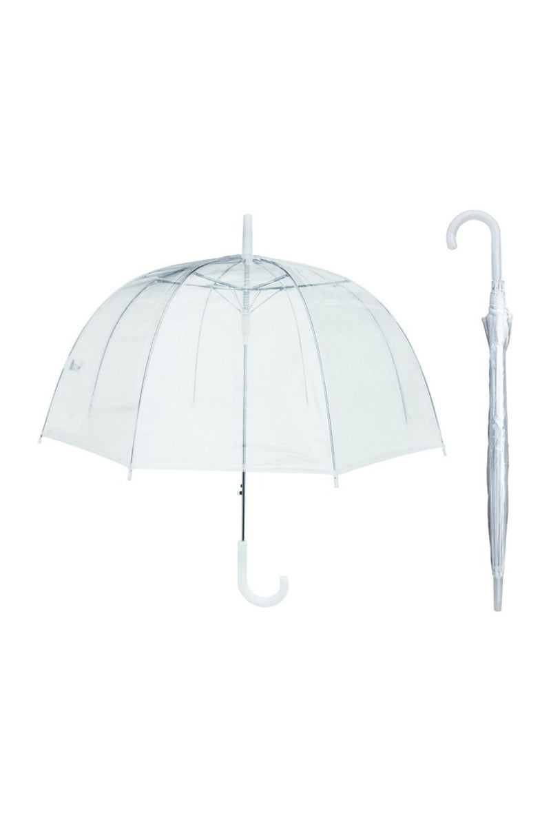 "RainStoppers 46"" Dome Umbrella - Clear"