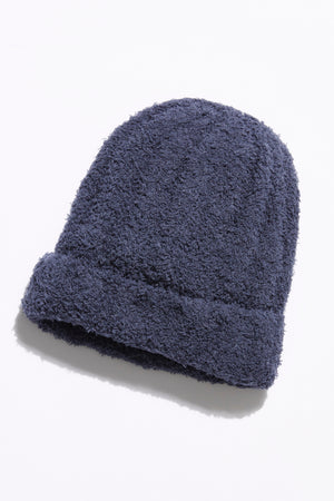 Free People Cloud Rib Beanie - Navy