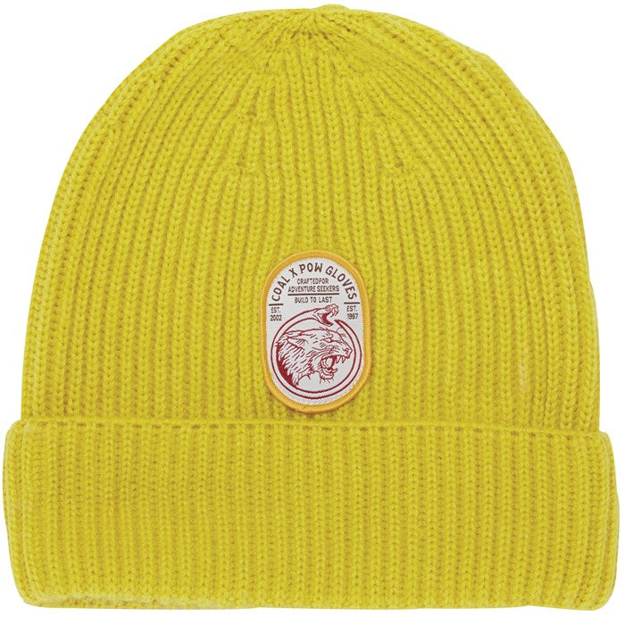 Coal Highline Beanie - Sulphur