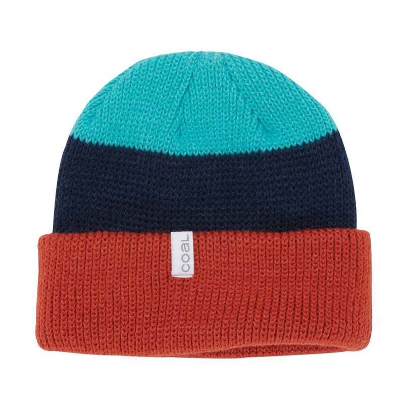 Coal Frena Beanie - Burnt Orange Stripe