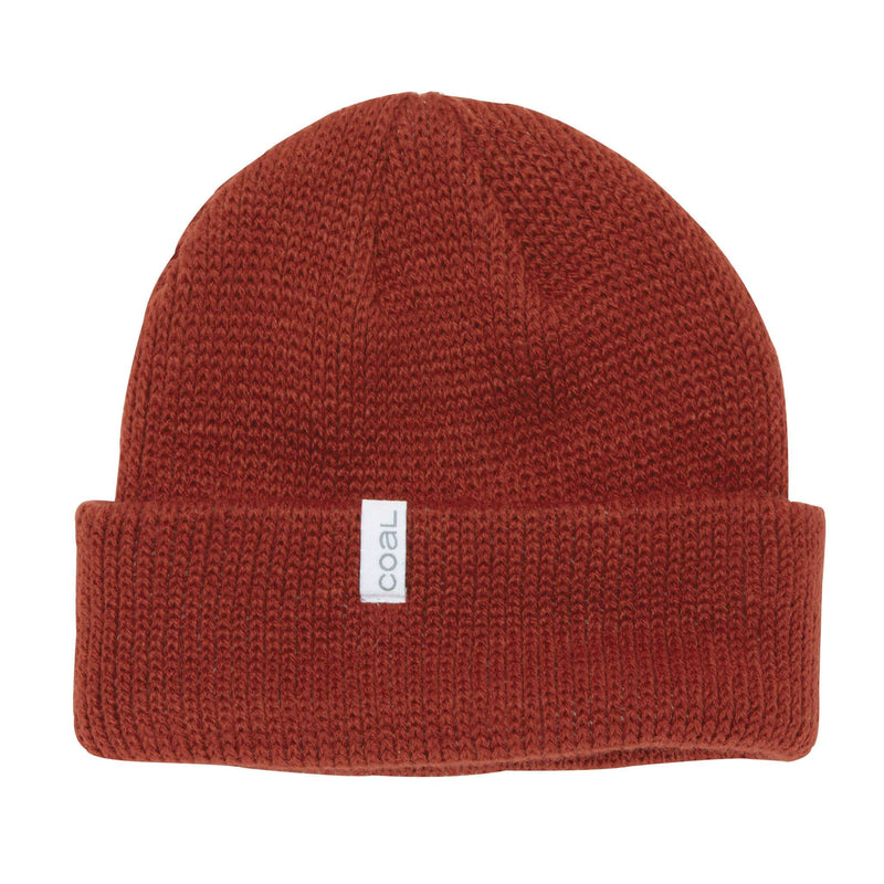 Coal Frena Beanie - Rust