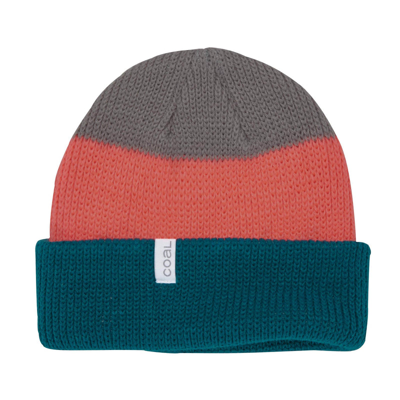 Coal Frena Beanie - Teal Stripe