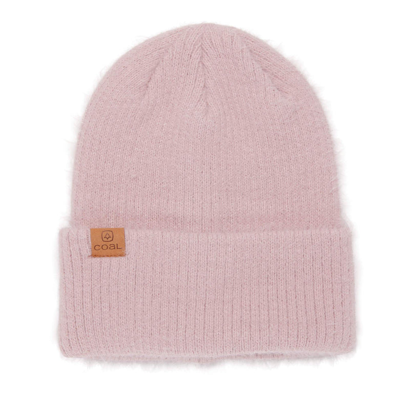Coal Pearl Beanie - Dusty Rose
