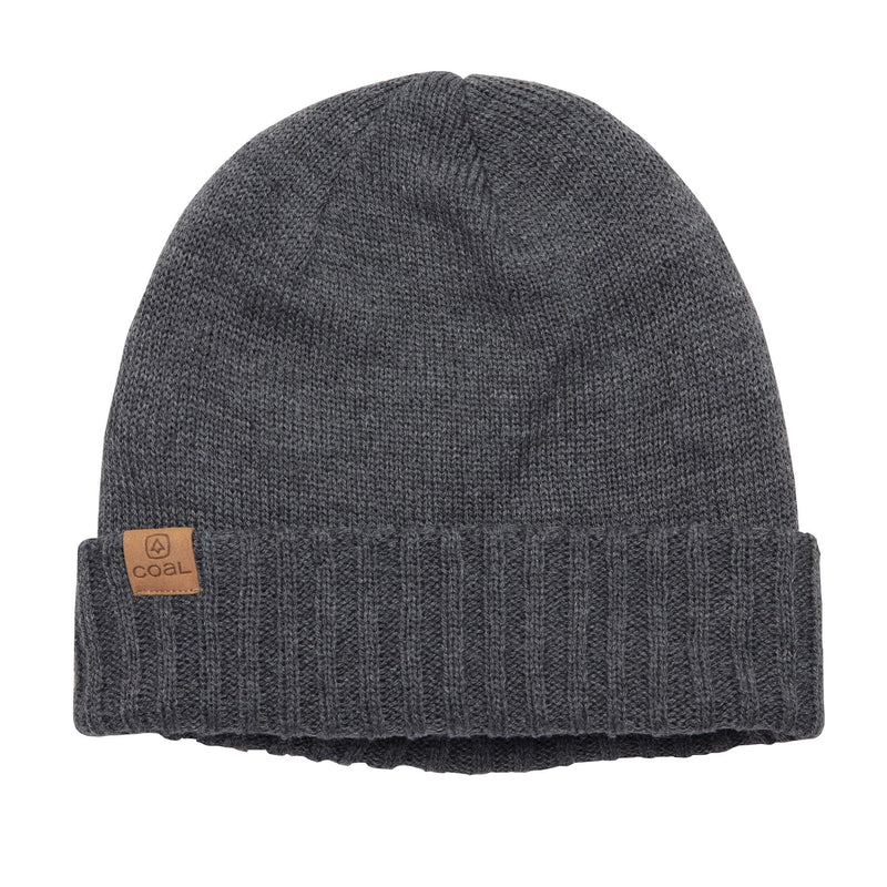 Coal Rogers Fleece Lined Beanie - Charcoal