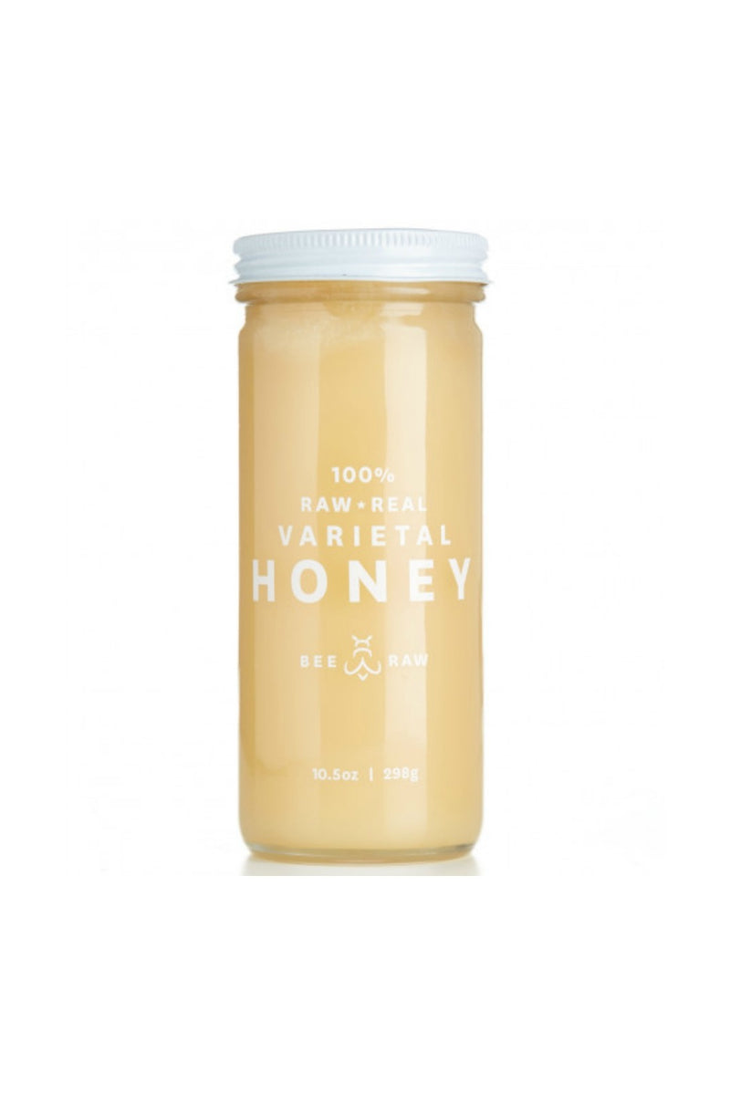 Bee Raw Honey 10.5 oz. Jar - Colorado Sweet Yellow Clover
