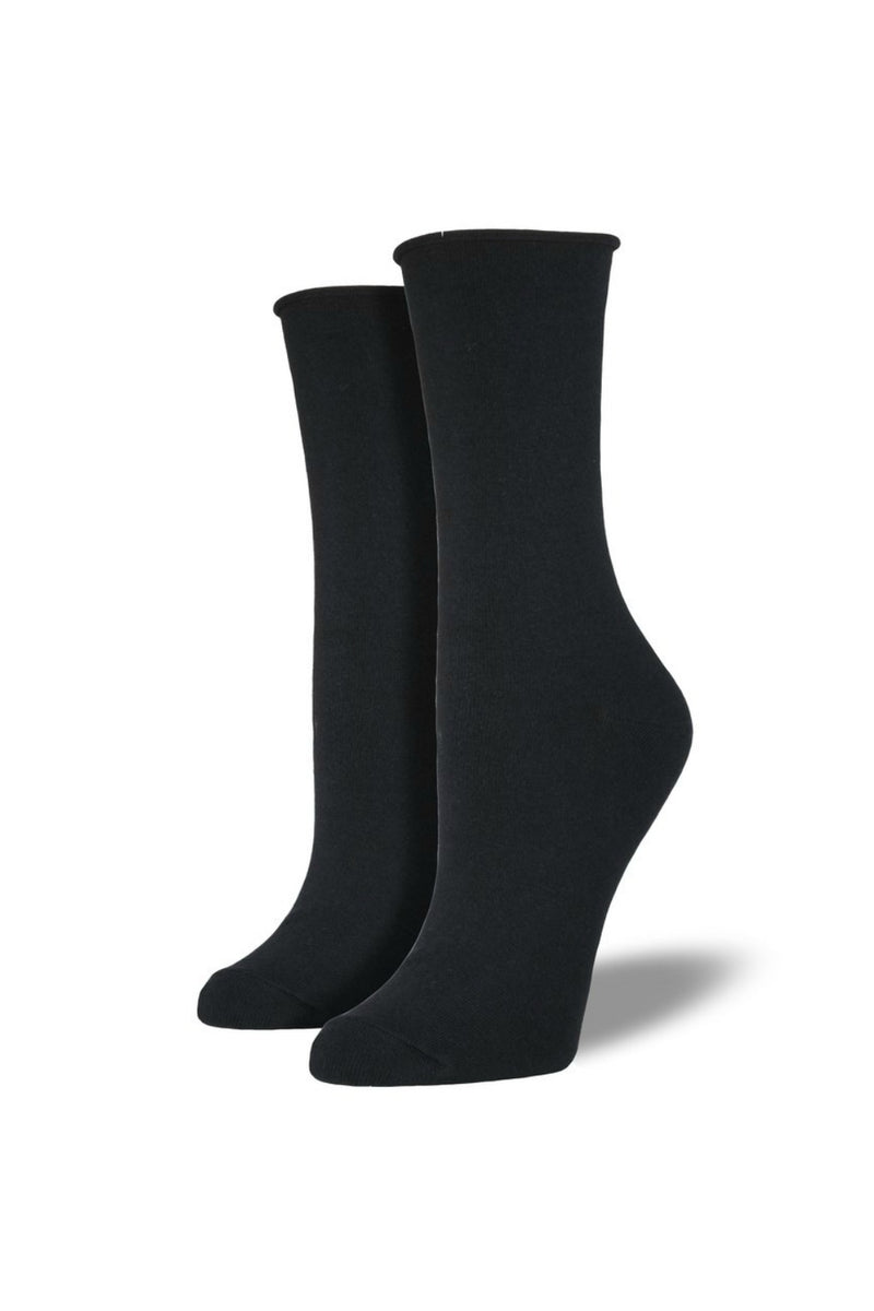 Socksmith Comfort Crew Socks in Black