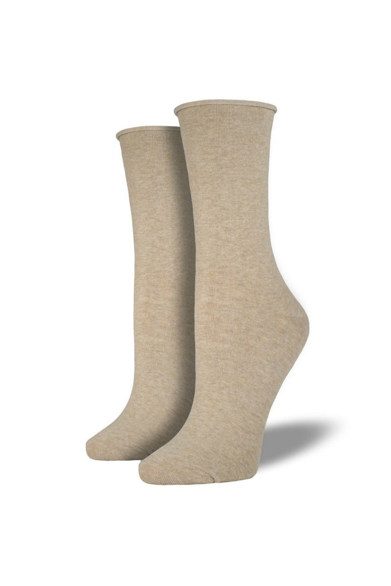 Socksmith Comfort Crew Socks in Hemp