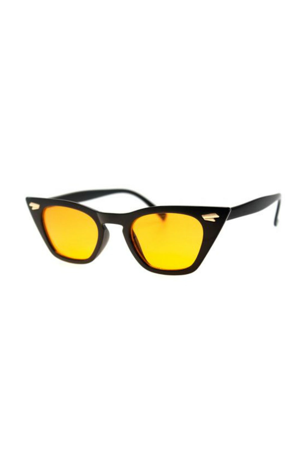 Country-Side Sunnies - Black/Amber