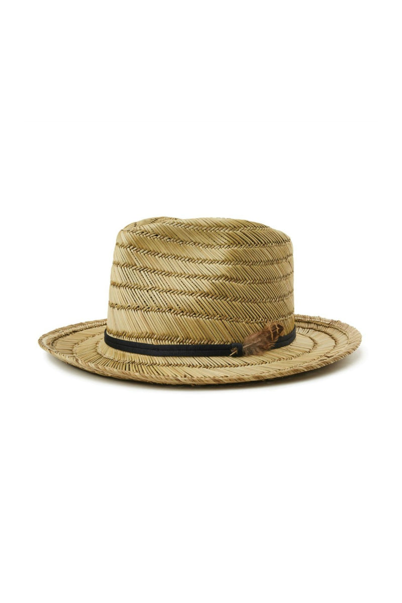 Brixton Crosby II Fedora in Tan