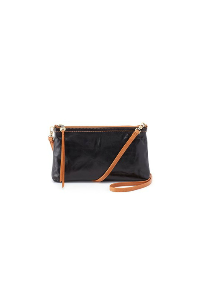Hobo Darcy Convertible Crossbody Clutch - Black