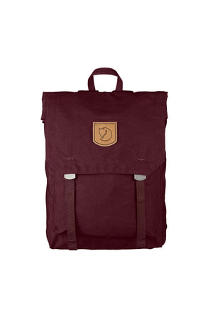 Fjällräven Foldsack No.1 Backpack - Dark Garnet