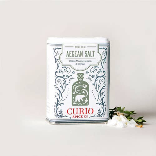 Curio Spice Co. Aegean Salt - 2.8 oz.