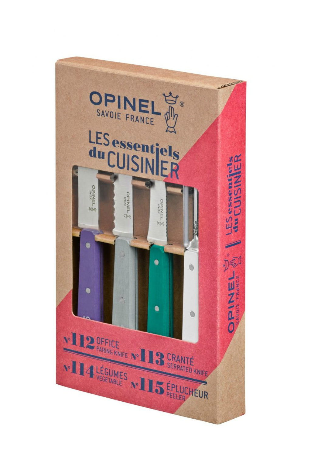 Opinel Art Deco Essentials Knives Box Set