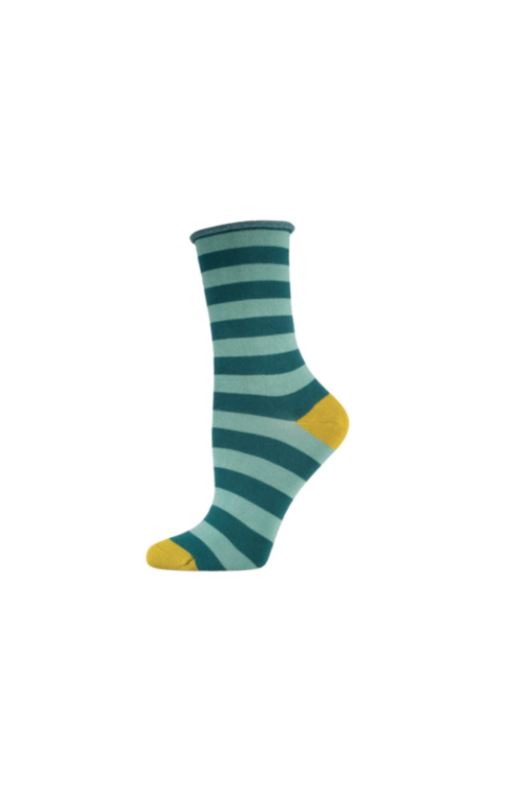 Socksmith  Bamboo Stripe Socks - Deep Teal