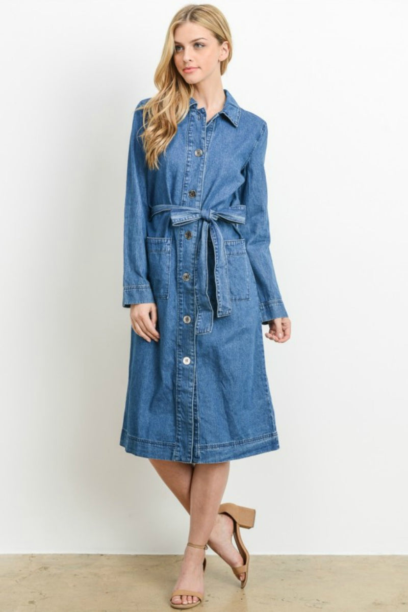 Denim For Days Dress