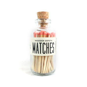 Mini Matches - Coral