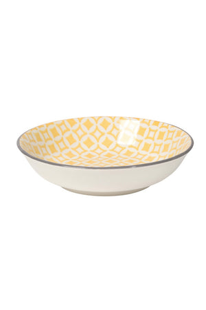 Now Designs Dip Bowl - Yellow Diamonds