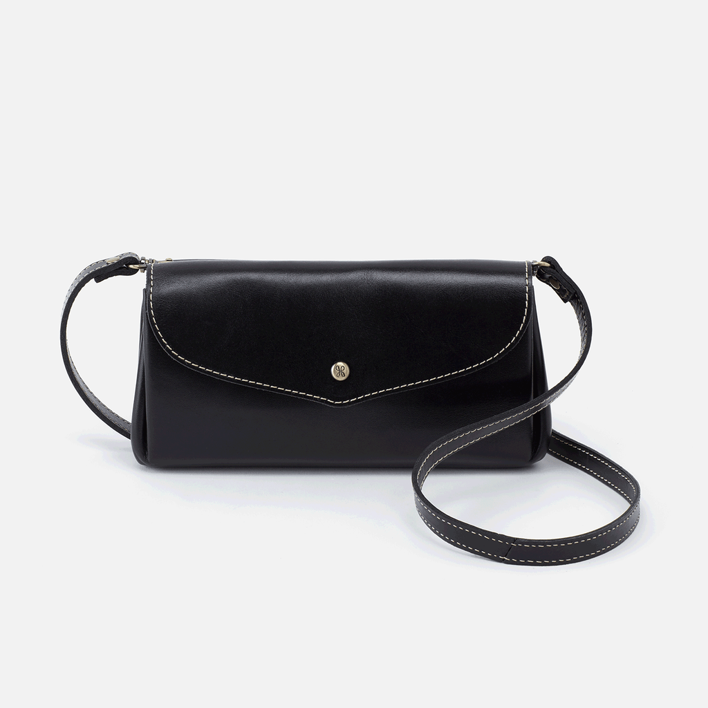 Hobo Driver Crossbody - Black