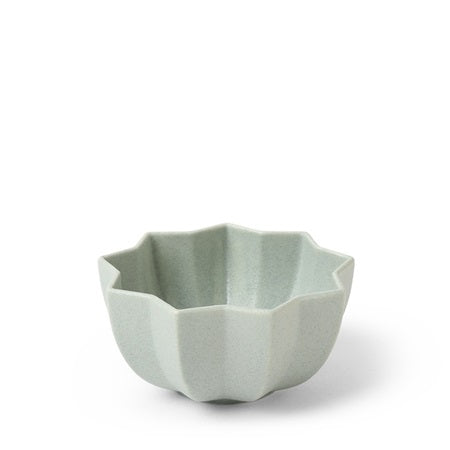 MIYA Flower Bowl - Matte Green