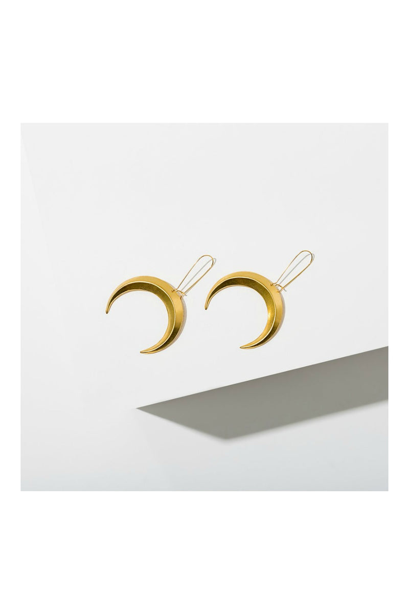 Larissa Loden Eclipse Earrings - Gold