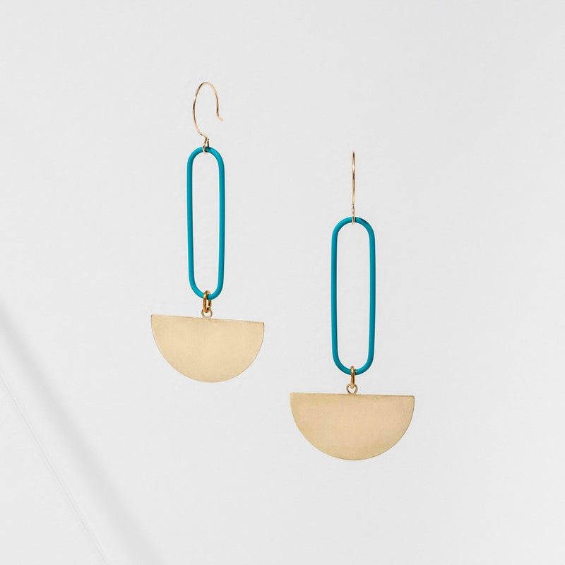 Larissa Loden Eileen Earrings - Turquoise