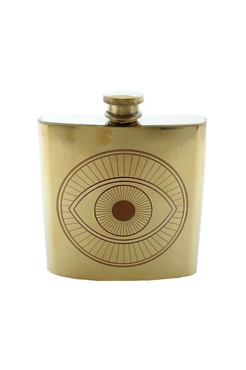 Roost Small Evil Eye Flask