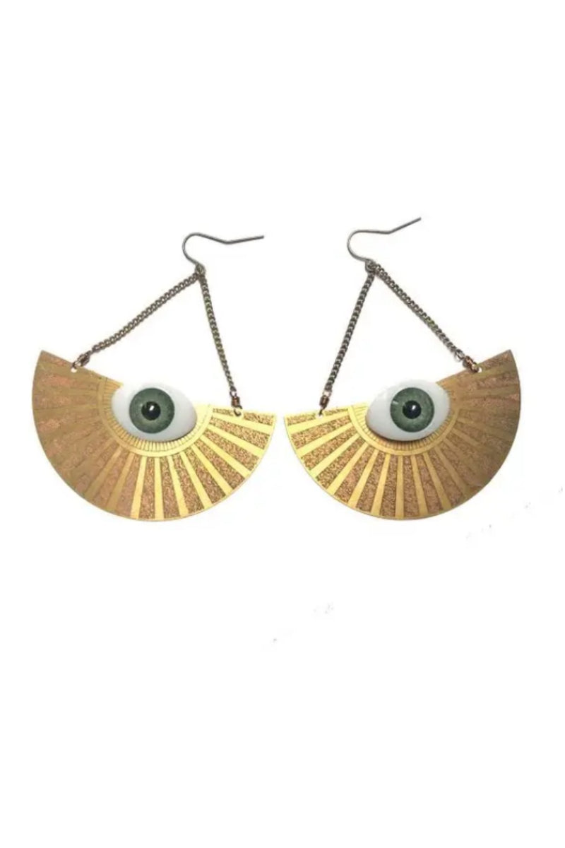 Odyssey & Oddities Eye Disc Earrings