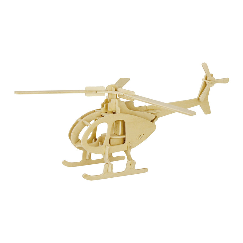 Wooden Puzzle - Helicopter