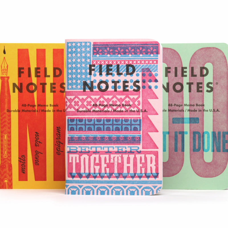 Field Notes United States of Letterpress: B