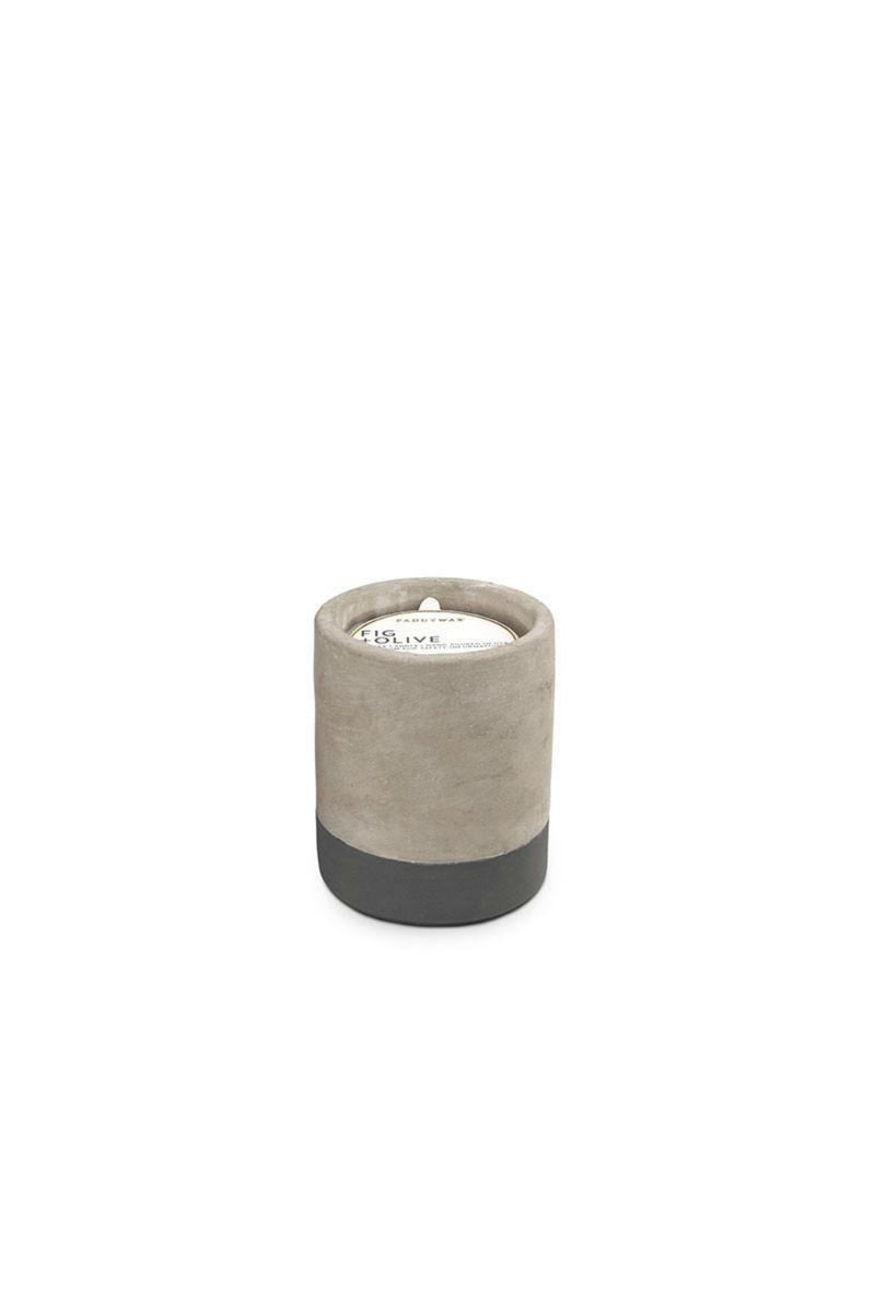 Paddywax Urban Concrete -  Fig & Olive Candle