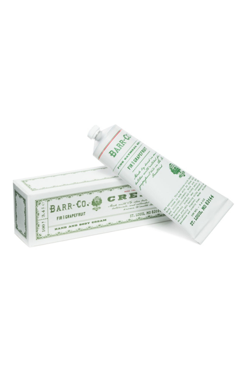 Barr-Co. Hand & Body Cream 3.4 oz. - Fir & Grapefruit