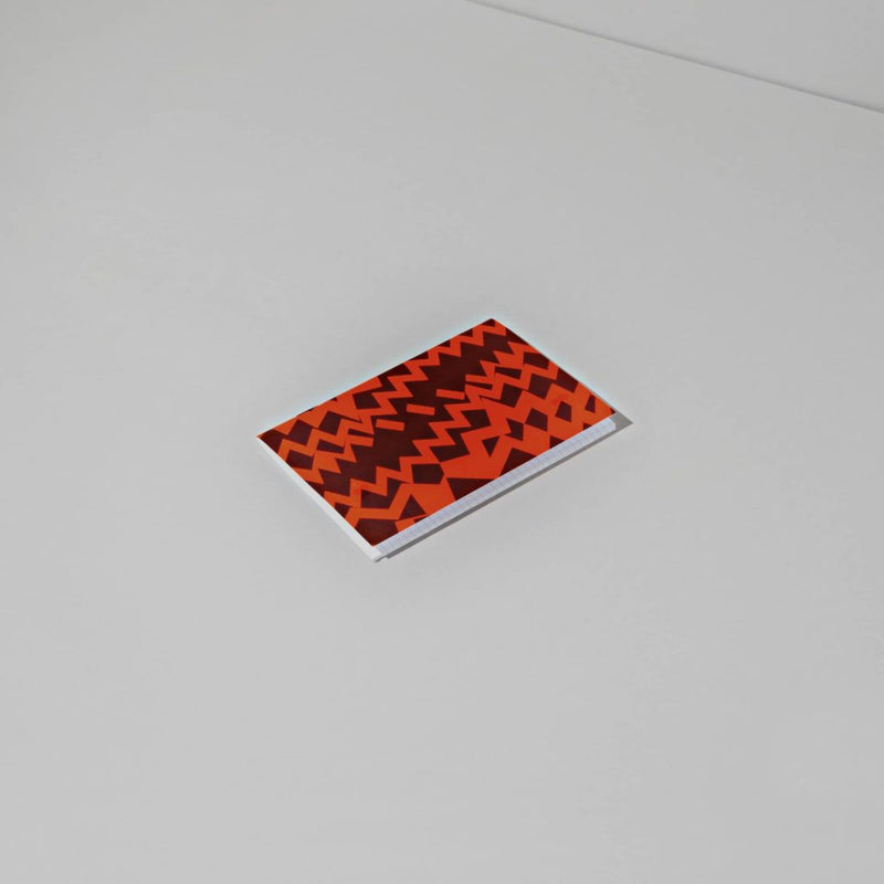 Positional Fluo Notebook - Red