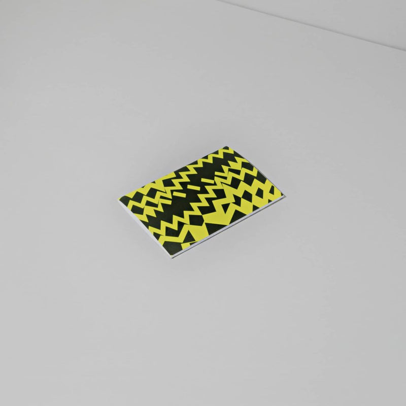 Positional Fluo Notebook - Yellow
