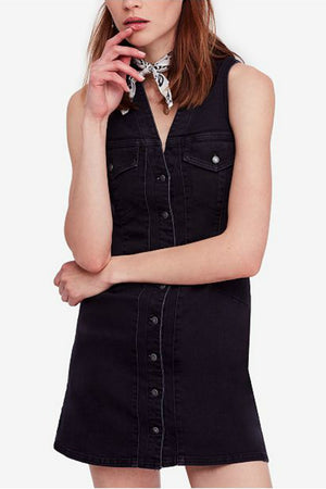 Free People Wandering Star Mini Dress